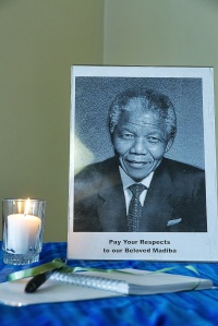 Please leave messages for our Beloved Madiba