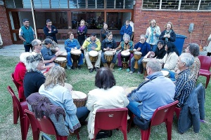 Join in a Free Drumming Lesson at the Fayre
