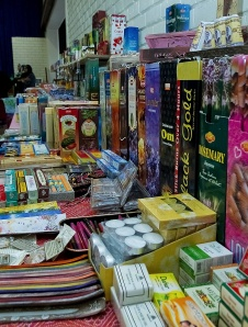The widest selection in Cape Town of incense sticks and accessories is at our Fayre