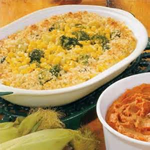 broccoli and corn bake